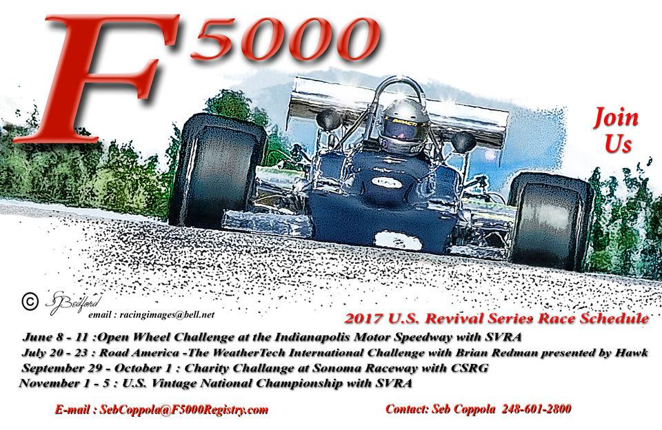 2017 Revival F5000 Series