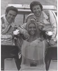 Al Unser, Mario Andretti and Laguna Seca Queen