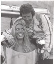 Mario Andretti with Laguna Seca Queen